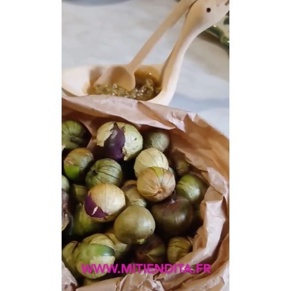 Tomatillo entero fresco Bio 1kg